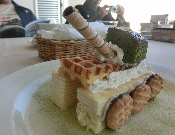 s-戦車ケーキ