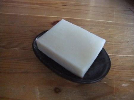 ペパーミントのシンプル石鹸