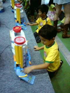 トミカ玩具体験コーナー