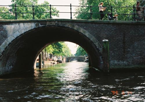 アムステルダム運河の橋