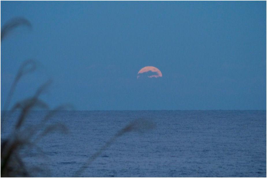 満月の月の出
