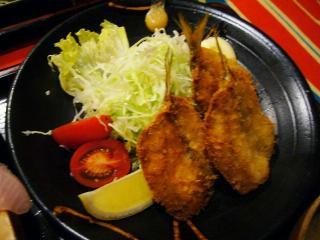 大次郎丸 多賀定食 地魚フライ