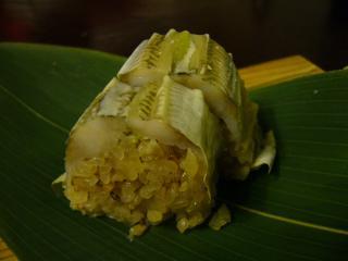 黒茶屋 風 鮎の笹巻き寿司