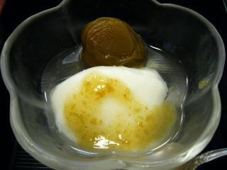 九兵衛 梅の里御膳 水菓子