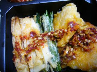 焼き肉弁当 チヂミ1