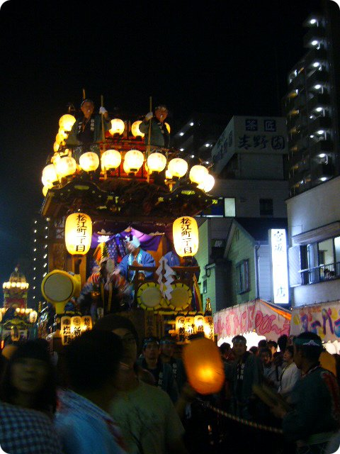 川越祭り みこし5