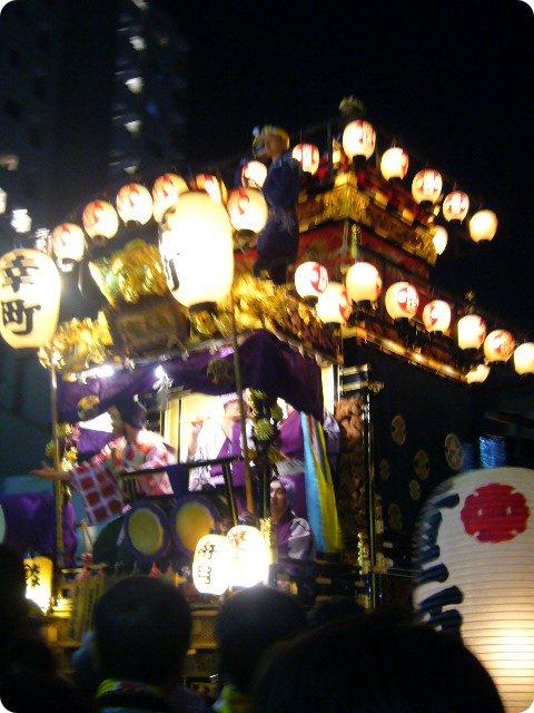 川越祭り みこし4