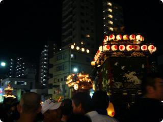 川越祭り みこし1