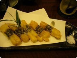 錦 長芋のフライ