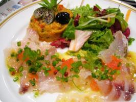 REGINA 真鯛のマリネ 柚子胡椒風味ソース