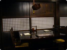 黒茶屋 室内
