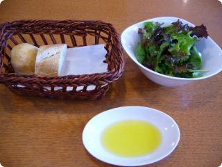 Cocco パンとサラダ