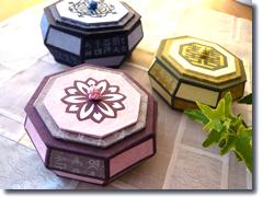 ハングル模様の八角宝石箱@栄中日文化センター