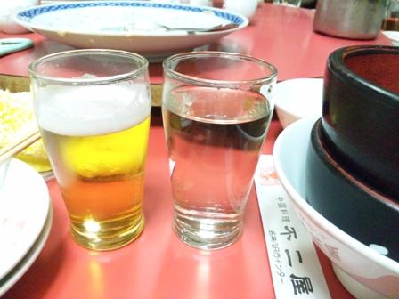 ビールと日本酒