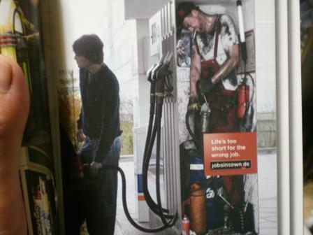 ガソリンスタンドの中のひと