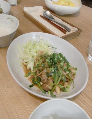 生姜焼き 味噌味