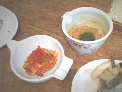トッピング 納豆とキムチ