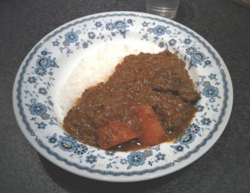 カリーシュダ 牛ほほ肉のカレー