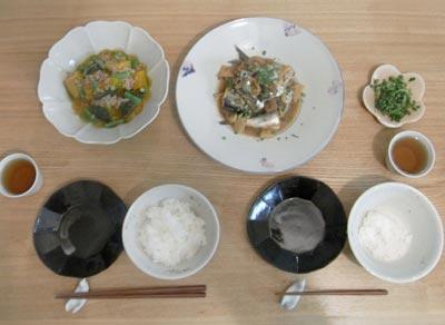煮物定食 1