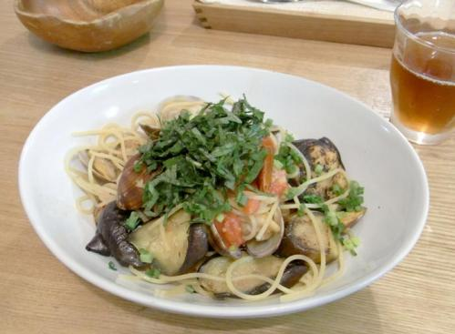アサリと夏野菜のパスタ 201087