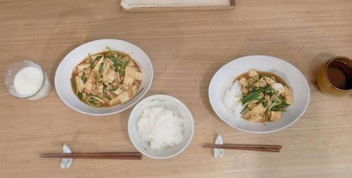 麻婆豆腐どんぶり