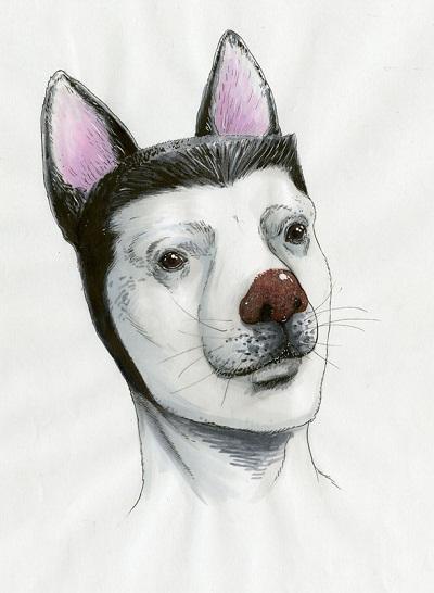 「革命戦士 犬童貞男」の主人公・犬童貞男。