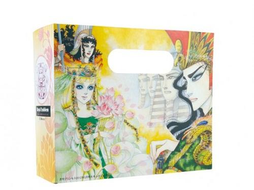 月刊プリンセス5月号に付属する「王家の紋章」のミニボックス。