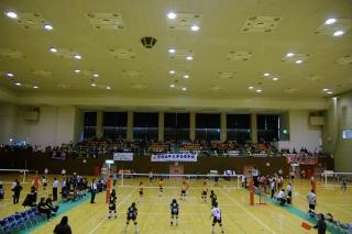 春の高校バレーボール 県大会