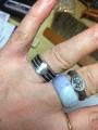 ミーナクシ寺院の指輪