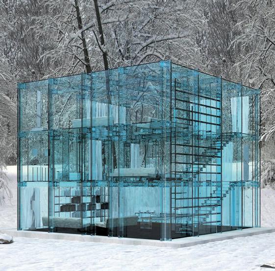 ガラスの家b