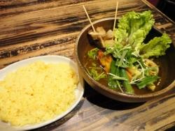 札幌ドミニカ 銀座店 チキン野菜