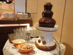 ラ・ボケリア ビュッフェ台 チョコレートファウンテン
