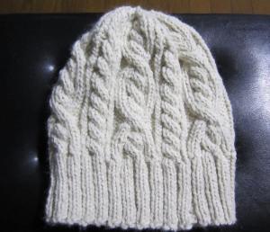 1.毛糸の帽子①