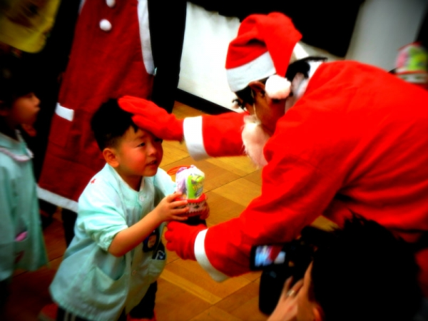 サンタさんからプレゼントをもらったよ!!-2