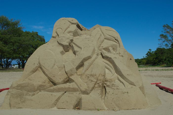 13-10-15-1砂の芸術作品