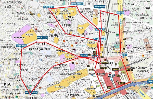 渋谷サウンドデモコース