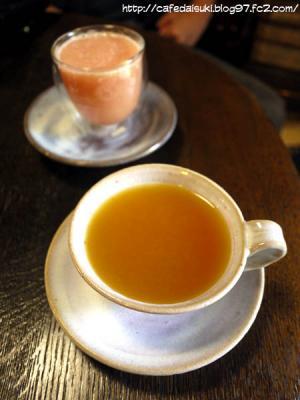 カフェあまんゆ◇島みかんティー&トロピカルグァバジュース