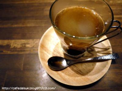 CAFE KICHI◇くず湯黒みつ