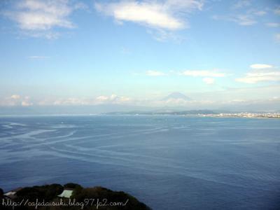 江ノ島・サムエルコッキング内展望台からの眺め