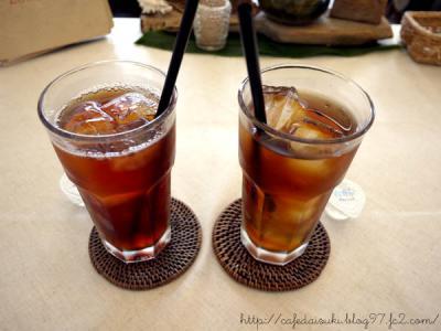 LON CAFE◇fruit tea(ブラックチェリー&パッション)