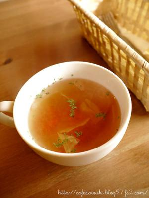 Cafe 日月堂◇ランチセットのスープ