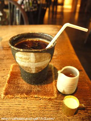 cafe&gallery 温々◇アイスコーヒー