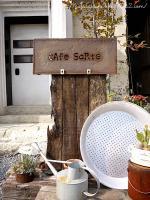 Cafe Sorte◇看板