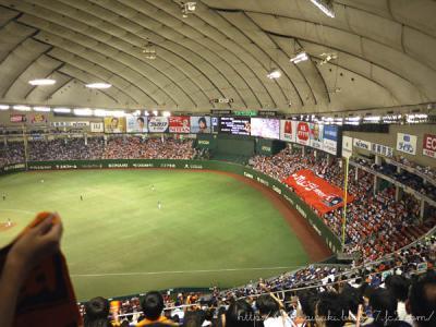 巨人×中日戦@東京ドーム(2012.8.2)
