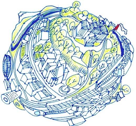 大倉山地球儀