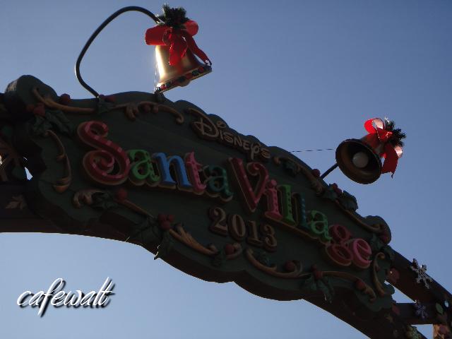 TDL christmas 2013 santa Village 2
