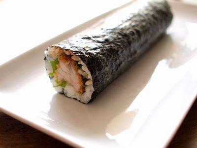 とんかつ巻き寿司2