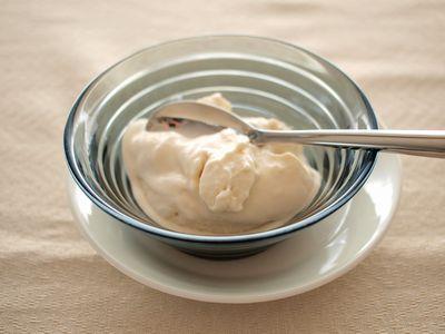 酒粕のアイスクリーム2