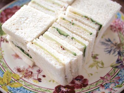 きゅうりのサンドイッチ
