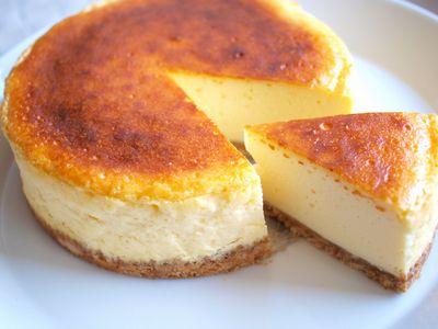 水切りヨーグルトのチーズケーキ2